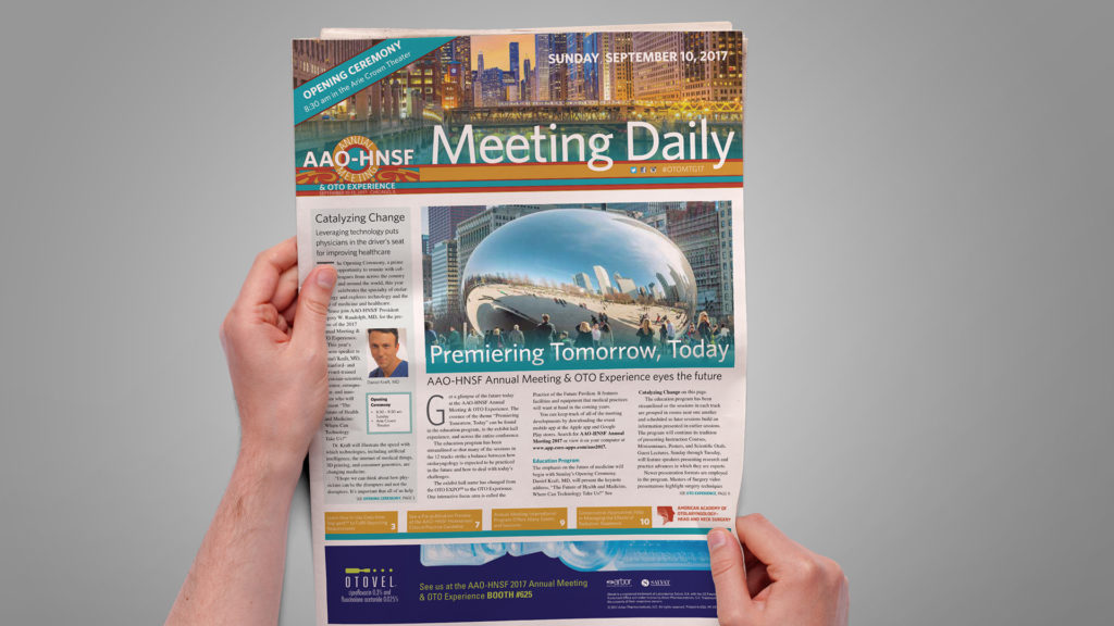 American Academy of Otolaryngology--Head and Neck Surgery 2017 - Meeting Daily