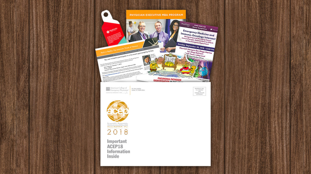 American College of Emergency Physicians 2017 - Pre-Meeting Mailer