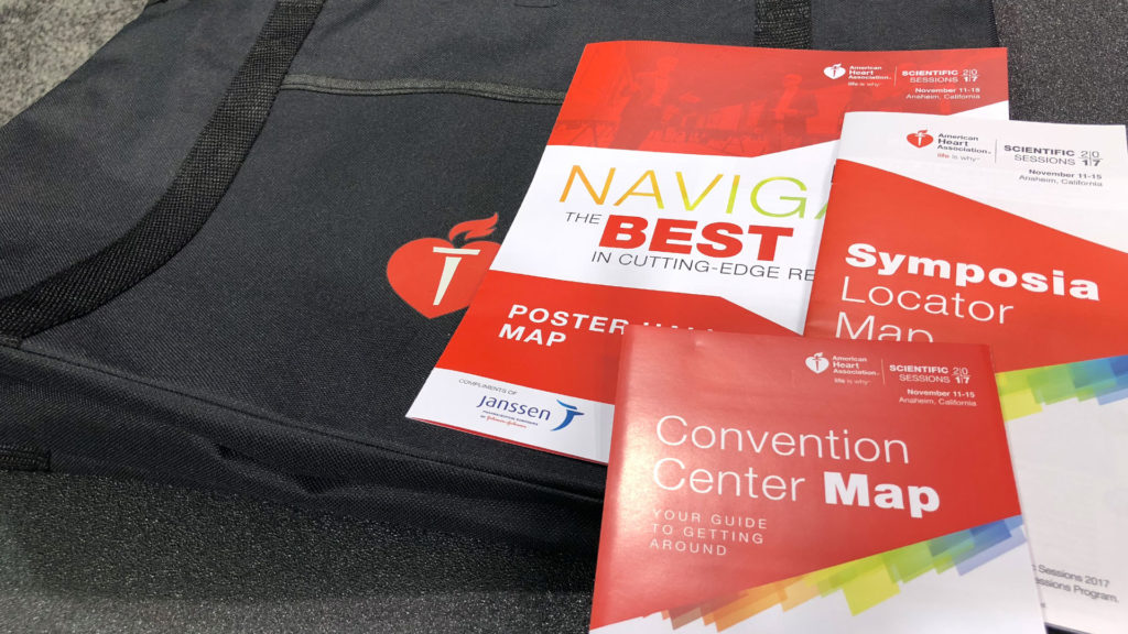 American Heart Association 2017 - Convention Center, Poster Hall and Symposia Locator Maps