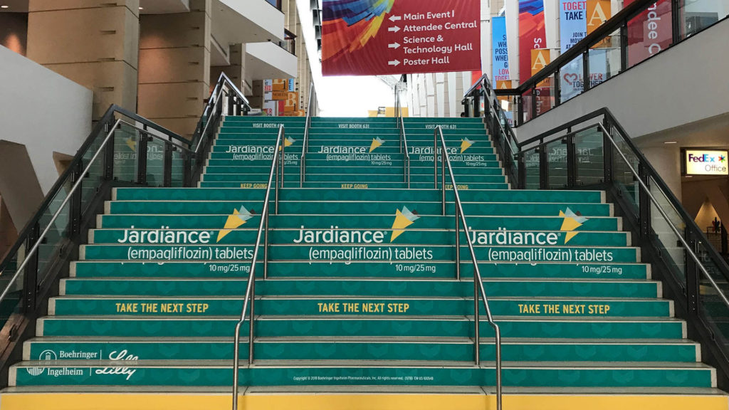 American Heart Association 2017 - Convention Center Sponsorships
