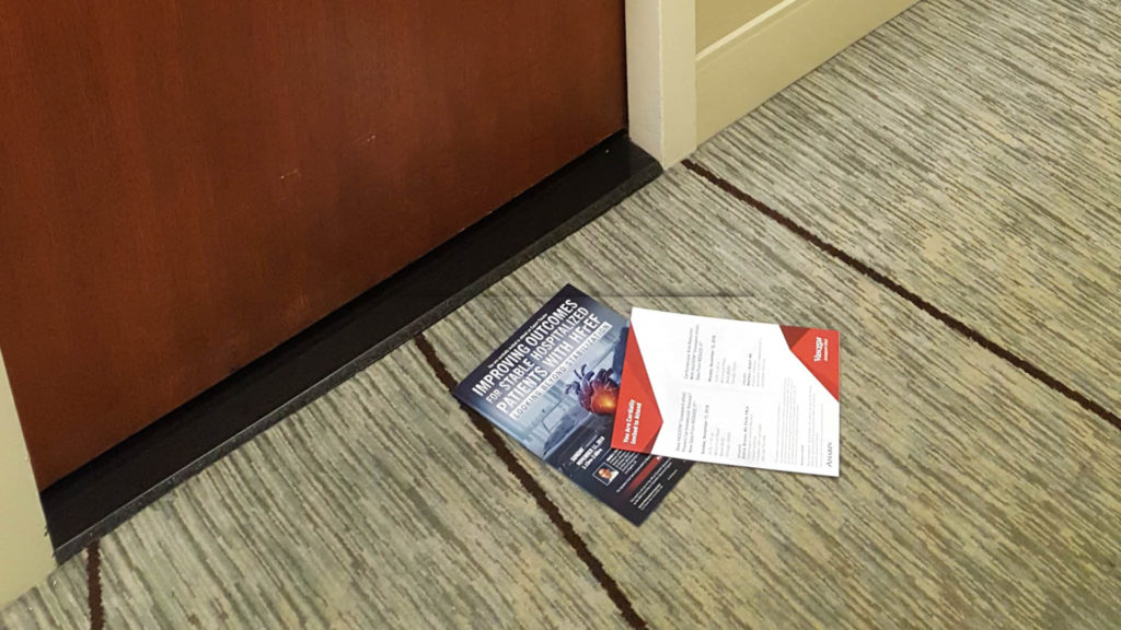 American Heart Association American Stroke Association 2018 - Individual Room Drop