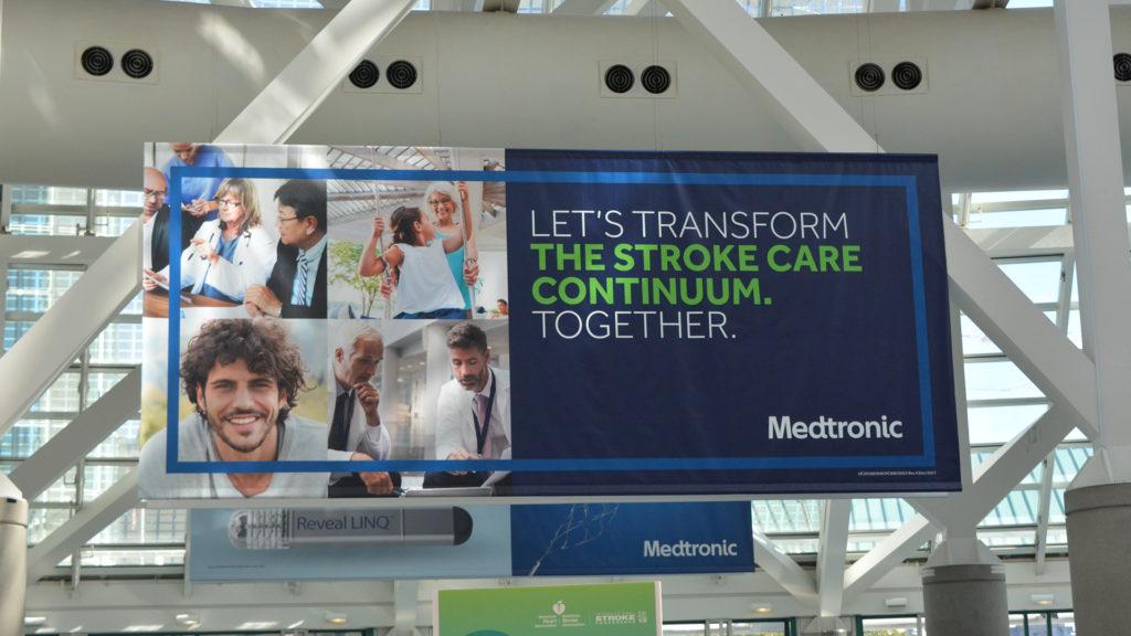 American Heart Association/American Stroke Association 2018 - Convention Center Sponsorships
